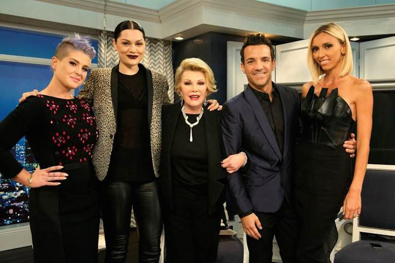 Joan Rivers Fashion Police 2014 Kelly Jessie J me