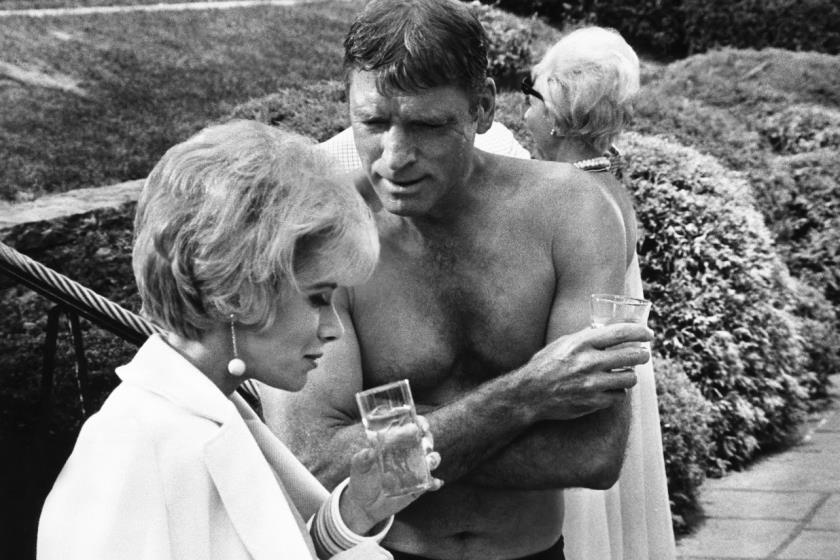 Joan Rivers & Burt Lancaster