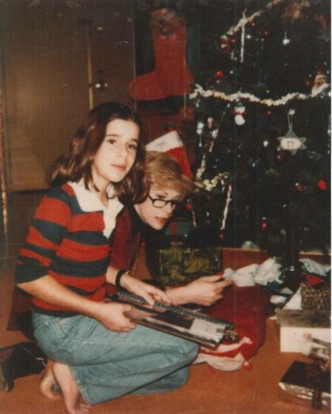 Joan & Melissa on Christmas