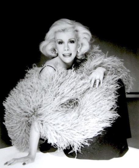 Joan Rivers Feather Boa